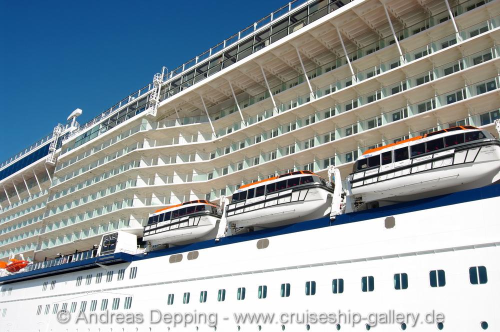 Celebrity Reflection departing Meyer Werft October 2012 ...