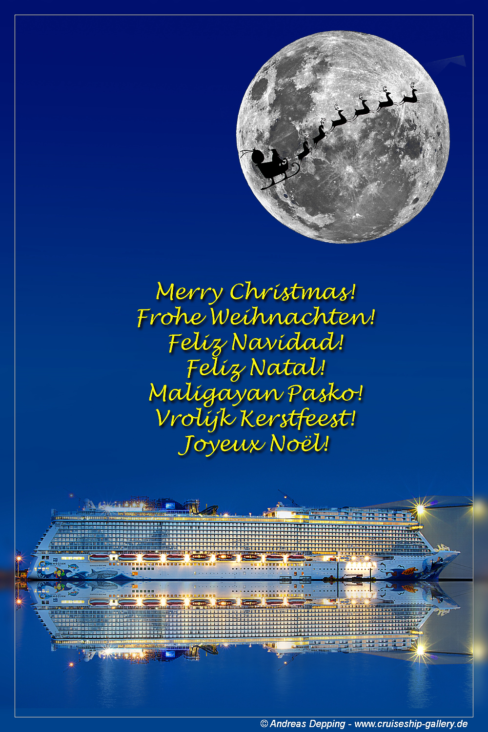 Dree Christmas Card For Ncl Fans Cruise Critic Message Board Forums